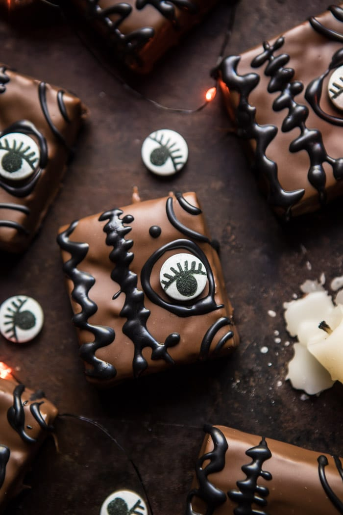 Hocus Pocus Spellbook Brownies
